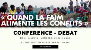 conférence : « QUAND LA FAIM ALIMENTE LES CONFLITS »